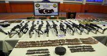 Hakkari'de terör örgütüne ait çok sayıda mühimmat ele geçirildi