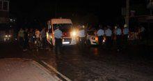 HDP'liler kendilerini koruyan polisi taşlayınca ortalık karıştı