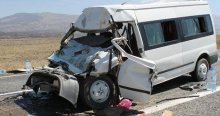 Iğdır'da trafik kazası, 2 ölü