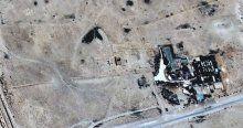 IŞİD yıkımı uydudan bile görünüyor