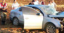 Kahramanmaraş'ta iki otomobil çarpıştı, 9 yaralı