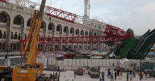 Mekke'deki vinç kazasının izleri ortaya çıktı