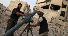 Muhalifler Şam'da kritik noktaları ele geçirdi