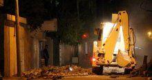 Nusaybin'de polisin hendek kapatması sırasında çatışma çıktı