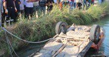 Otomobil sulama kanalına düştü, 1 ölü