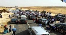 Selahattin Demirtaş'ın konvoyu Mardin çıkışında durduruldu
