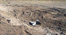Siirt'te el yapımı patlayıcı bulundu