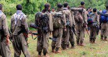 Teröristler 7'şerli gruplar halinde teslim oluyorlar