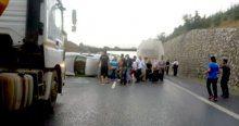 Yağmur ve kayganlaşan yol kaza getirdi! 1 çocuk öldü, 3 kişi yaralandı