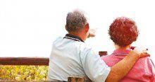 Yaşlı emekliye iki kat maaş