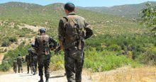 Yola mayın döşedikten sonra fark edilen 6 terörist kaçtı
