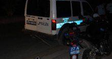 Zanlıları kovalayan polis araçları çarpıştı, 2 yaralı