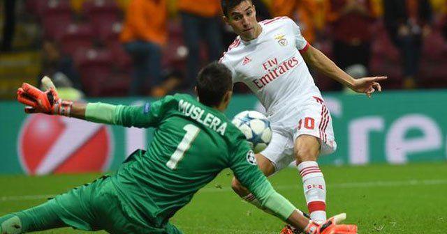 Galatasaray Benfica maçı full özeti, Galatasaray Benfica maçı golleri