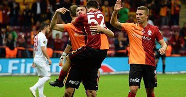 Galatasaray Eskişehirspor 4-0 maçı geniş özeti ve golleri Maç sonucu kaç kaç burada