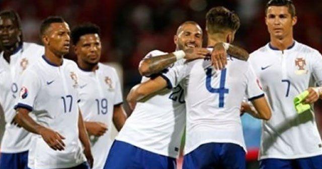 Nani ve Quaresma'lı Portekiz 3 puanı kaptı