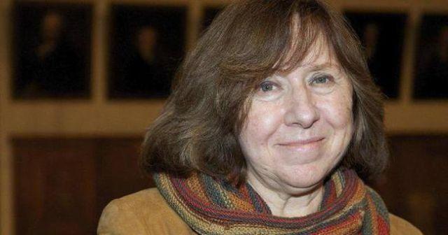 Nobel Edebiyat ödülünü Svetlana Aleksiyeviç aldı