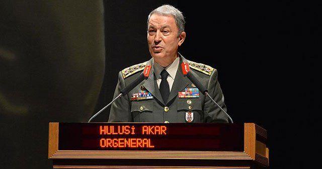 Orgeneral Hulusi Akar, 'PKK'ya ağır zayiat verdirildi'