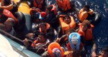 250'den fazla sığınmacı taşıyan tekne battı!