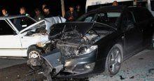 Amasya'da trafik kazası, 1 ölü 2 yaralı