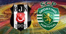 Beşiktaş, Sporting Lizbon ile 1-1 berabere kaldı