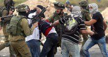 İsrail bir ayda bin 520 Filistinliyi gözaltına aldı