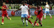 Trabzonspor Sivasspor deplasmanından 3 puanı kaptı