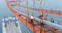 Yavuz Sultan Selim Köprüsü'nde son 535 metre