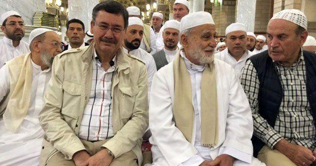 Gökçek ve Topbaş'tan Medine'ye şükür ziyareti