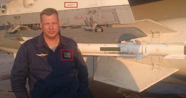İşte düşürülen Rus uçağı ve o pilot