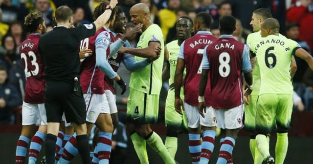 Manchester City'e Aston Villa freni