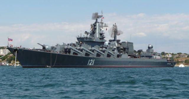 Rusya, hava savunma sistemli Kruvazörü Akdeniz'e gönderdi