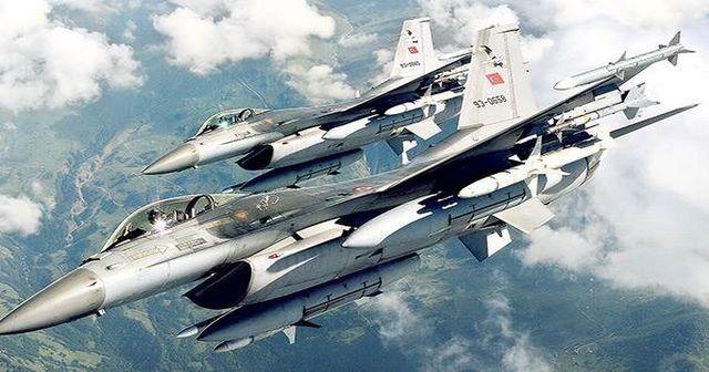 Sınırda rekor sayıda F-16 uçağı