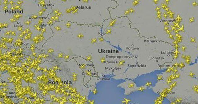 Ukrayna hava sahasını kapatıyor