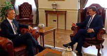 Davutoğlu NATO Genel Sekreteri Stoltenberg'le görüştü