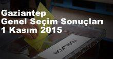 Gaziantep Seçim Sonuçları, 2015 Genel seçim sonuçları
