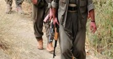 Hakkari'de keskin nişancı bir PKK'lı yakalandı