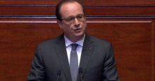 Hollande, 'IŞİD, finans ve petrol kaynakları olan bir ordudur'