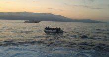 İzmir sahilinde 33 sığınmacı kurtarıldı