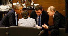 Liderler Antalya'da baş başa görüşme fırsatı buldu