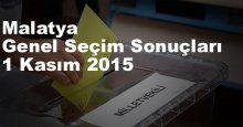 Malatya Seçim Sonuçları, 2015 Genel seçim sonuçları