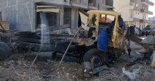 Mardin'de bomba yüklü araç imha edildi