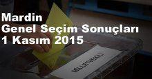 Mardin Seçim Sonuçları, 2015 Genel seçim sonuçları