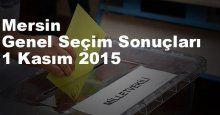 Mersin Seçim Sonuçları, 2015 Genel seçim sonuçları