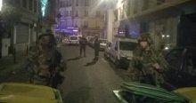 Paris'te asker sokağa indi