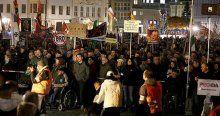 PEGIDA'dan provokatif gösteri