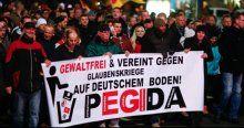 PEGIDA'nın gösterilerine katılım azalıyor