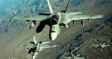 Savaş uçakları DAEŞ mevzilerini vurdu
