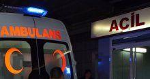 Şişli'de trafik kazası, 2 yaralı