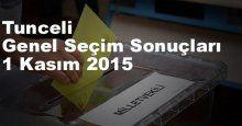 Tunceli Seçim Sonuçları, 2015 Genel seçim sonuçları