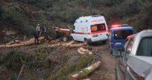 Üzerine kaya parçası düşen orman işçisi öldü